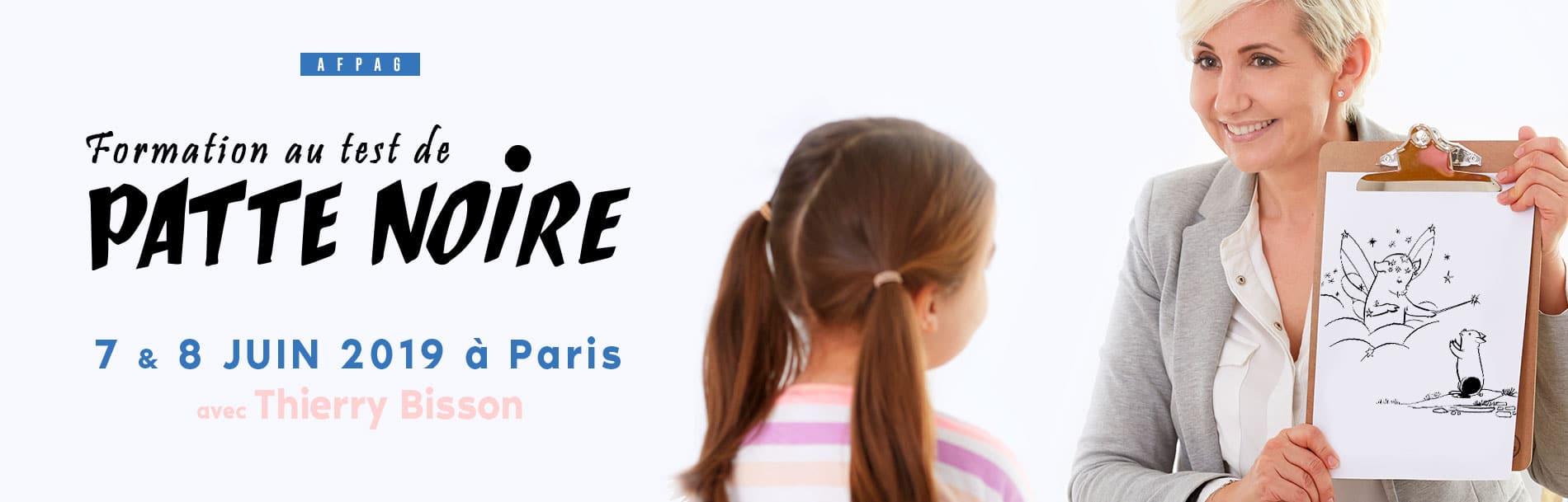 Test Patte Noire Paris
